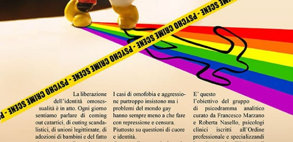 Psicodramma Gay. Luci ed Ombre. Workshop Settimanale