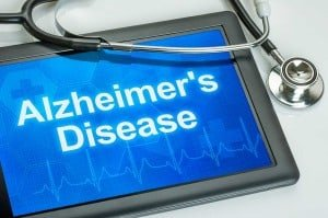 Tablet-with-the-diagnosis-alzheimer