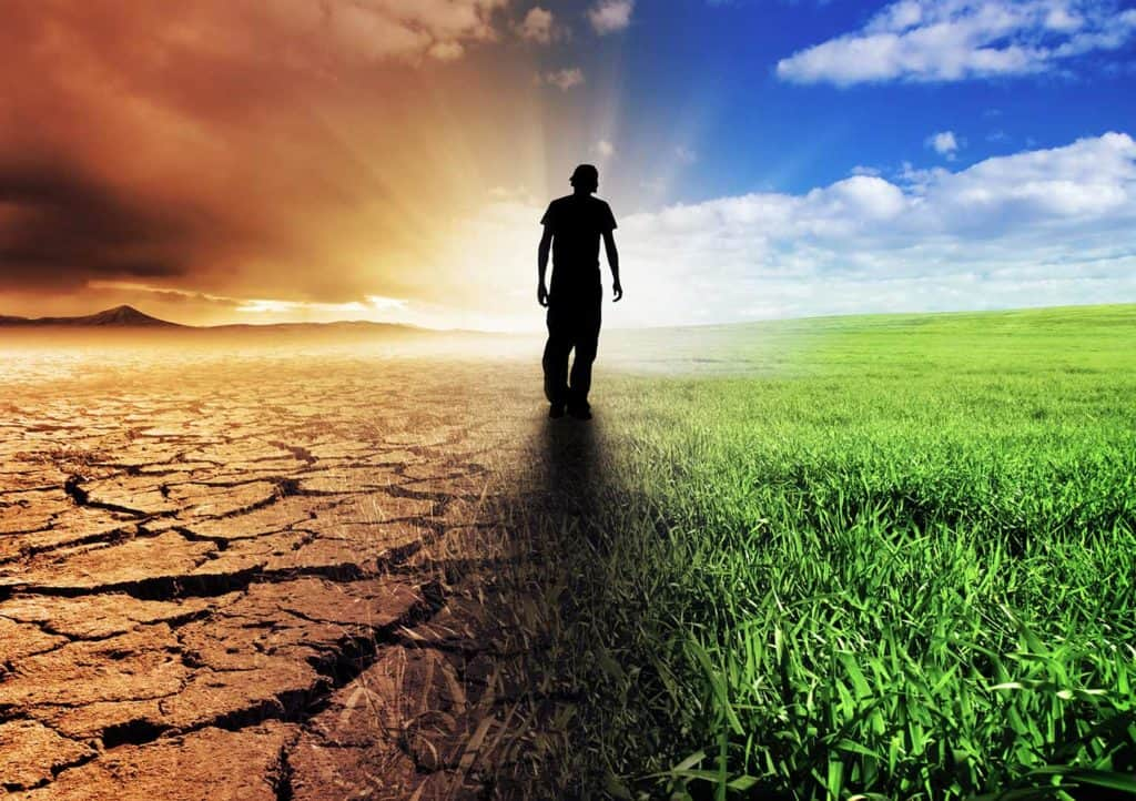 L'uomo tra cielo e terra, spirito e materia