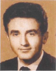 Il prof. Brunetti a 23 anni